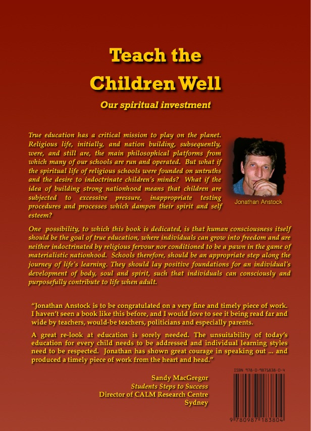 Children S Book Back Cover : The book teach children well our spiritual